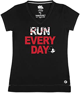 Mickey Mouse Run Every Day Streets V Performance T-Shirt