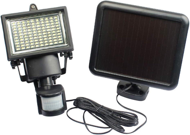 Solarlichter Sicherheitsleuchten Scheinwerfer 100 LED mit Eingebaut PIR Bewegung und Nacht Sensor für Auen Garten Schuppen Terrasse Patio Auffahrt Hof Garage Weg Wandlampe Landschafts Beleuchtung