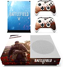 Battlefield Xbox One S Skin - Vinyl Skin Decal Sticker Protective Faceplates Full Cover for Xbox One S Console and 2 Controller by Mr Wonderful Skin
