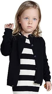 infant girl black cardigan