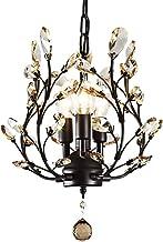 Lamp, Economical and practical Home Decoration Chandelier, Crystal Pendant Chandelier 4 Heads E14 Chandelier Modern Shinin...