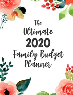 The Ultimate Family Budget Planner: Budget Journal Tool, Personal Finances, Financial Planner, Debt Payoff Tracker, Bill T...