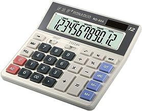 ビジネス電卓 電卓、12桁のソーラー電卓、標準機能エレクトロニクスデスクトップ電卓 ミニジャストタイプ電卓 (色 : Photo Color, サイズ : ワンサイズ)