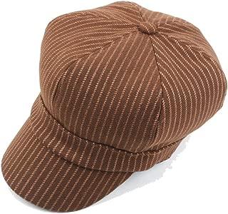 Fashion Hats Beret Cap Summer Spring Autumn Winter Wool Ladies Cotton Men's Striped Octagonal Hat Thick Warm Double Layer Newsboy Caps Painter Hat Vintage Outdoor Visors Hats Elegant Hats