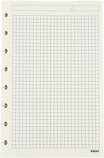 blanco ambos lados impresos 60 hojas en blanco 8.5 x 5.5 pulgadas, Eagle Discbound Planner Papel de recambio con 8 agujeros perforados