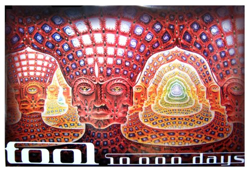 """Tool Net of Being 10000 Days Alex Grey Jumbo Poster 40"""" X 60"""" Official"""