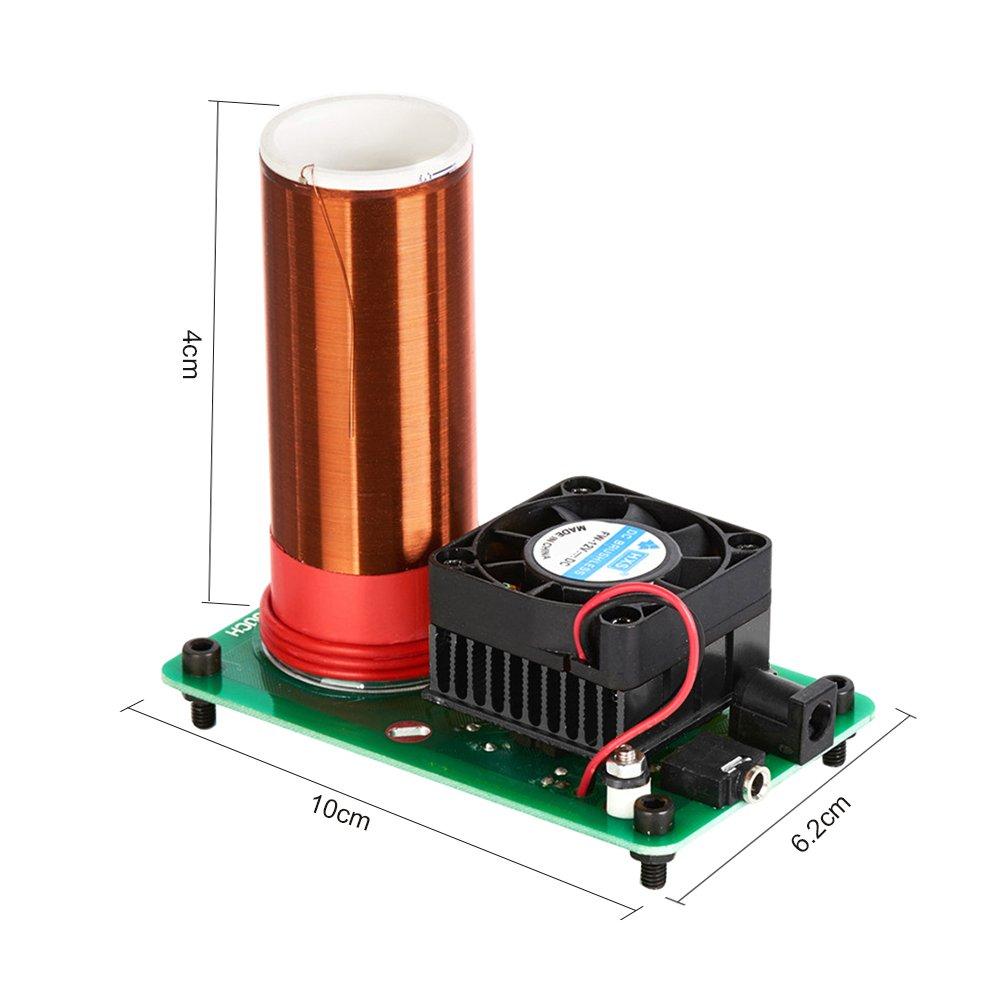 Mini bobina de música Plasma altavoz DIY Baja Potencia Micro Magic ...