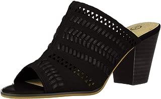 Women's Koraline Slide Sandal on Block Heel Mule