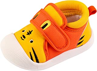 Toddler Baby Sneakers Rubber Sole Cartoon Shoes