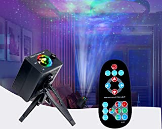 Sponsored Ad - Galaxy Projector Starry Night Light Projector LED Cloud Wave Star Projector for Ceiling, Bedroom, Kids Adul...
