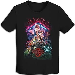 ストレンジャー・シングス 未知の世界 Tシャツ ロゴT 文字 メンズ メンズTシャツ 半袖 バックプリント アメカジ Tシャツ カレッジ プリント TEE おしゃれ ドライメッシュ素材