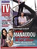 TV MAGAZINE N°1238 23 OCTOBRE 2010 LAURE MANAUDOU/ MISS FRANCE/ BEGUE&ROSENFELD/ SCHMITT/ CAUET/ WEBBER/ COREE DU NORD
