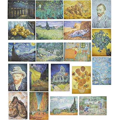 Vincent Van Gogh Posters (13 x 19 in, 20 Pack)