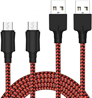 Micro USB Cable YOSOU Android Cable 2M 2Pack Nylon Braided USB Cable Fast USB Charger Charging Cables Compatible with Sams...