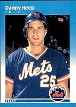 1987 Fleer Glossy #11 Danny Heep New York Mets Vintage MLB Baseball Card