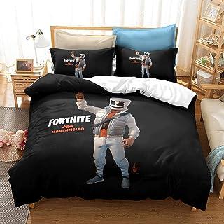 XLLJA påslakan 2 kuddöverdrag, 3D digitaltryck sängklädesset, påslakan och kuddöverdrag, enkel, dubbel, drottning, King B...