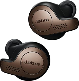 Jabra Elite 65t Earbuds – Passive Noise Isolating Bluetooth Earphones with Four-Microphone Technology for True Wireless Ca...