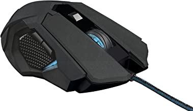 Trust Gaming 21454 GXT 158 Laser Gaming Mouse - Ambidextrous Design, On-Board Memory & 8 Programmable Buttons