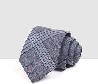 Elegant Men's Casual Fashion Tie Tie Striped Tie for Work, Dating, Wedding, 145 × 7.5cm CQQO (Color : E)