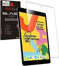 TECHGEAR Panzerglas Kompatible mit iPad 10.2 2019 - Displayschutzfolie aus gehärtetem Glas [9H Härte] [Crystal Clarity] kompatible mit iPad 7. Generation 10,2 2019 Neuste Modell