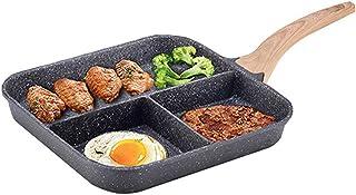 Olla casera Desayuno Filete sartén Desayuno artefacto Multiusos Saludable Uso múltiple Asistente de Cocina Cocina Universal Regalo
