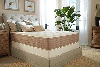 Eco Terra 11 Inch Twin XL Natural Latex Hybrid Mattress | Medium Mattress w/Encased Coil Springs