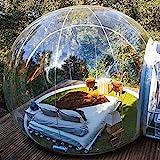 MyStelar Cúpula Burbuja Transparente - Cúpula Geodésica casa para Ver Estrellas - Tienda de campaña Hinchable Transparente - Cúpula Geodésica Glamping - Tienda de Camping Transparente Original