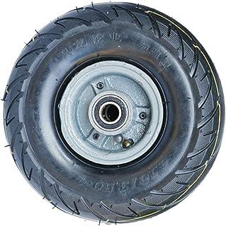 YJJT Vervangende band, opblaasbare rubberen wielen, met dubbele kogellagers en stalen wielkern, 10 inch, zware wielen, 1 s...