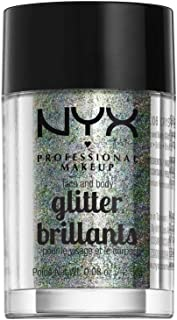 NYX PROFESSIONAL MAKEUP Face & Body Glitter, Crystal