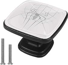 Opslaglade Trekt met 8 Schroeven Computer Bureau Handgrepen Thuis DIY Studie Slaapkamer Spider Doek Web