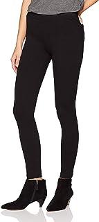 Daily Ritual Damen Seamed Front, 2-Pocket Ponte Knit Legging