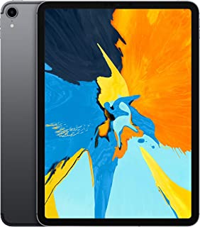 """Apple iPad Pro 11"""" (2018 - 3rd Gen), Wi-Fi + Cellular, 64GB, Space Gray [With Facetime]"""