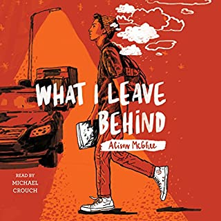 What I Leave Behind                   Written by:                                                                                                                                 Alison McGhee                               Narrated by:                                                                                                                                 Michael Crouch                      Length: 1 hr and 29 mins     Not rated yet     Overall 0.0