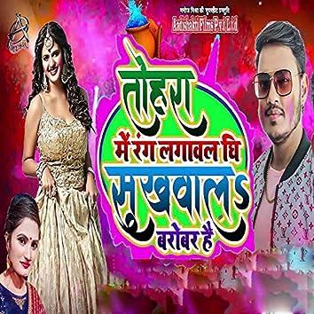 Tohara Me Rang Lagawal Ghee Sukhawal Barobar Hai