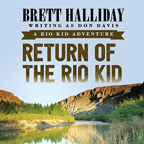 Return of the Rio Kid audiobook cover art