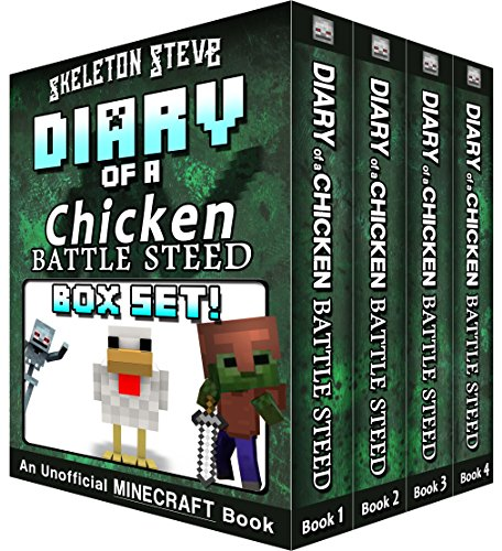 Diary of a Minecraft Chicken Jockey BATTLE STEED BOX SET - Collection 1: Unofficial Minecraft Books for Kids, Teens, & Nerds - Adventure Fan Fiction Diary ... Noob Mobs Series Diaries - Bundle Box Sets)