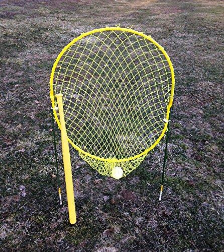 Xtra Feldspieler Pro Strike Zone Net mit Wiffle Marke Schläger und Ball
