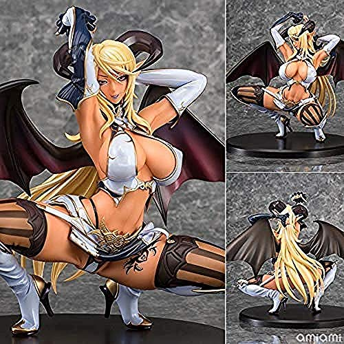 WXxiaowu 2019 Nieuwe 22cm Anime Daiki Kogyo Sadakage Illustratie Astacia Kneeling Ver PVC 1/5 Schaal Model Actie Figuur Speelgoed Zwart