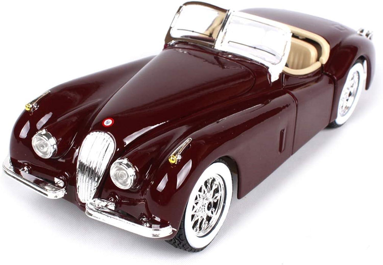 n ° 1 en línea RENJUN Modelo de Coche Coche 1 24 Jaguar XK120 aleación aleación aleación de simulación de fundición a Troquel Juguete joyería joyería de colección de Coche Deportivo 18.5x6.6x5.3 CM  hermoso