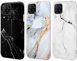 Para iphone 7//8 funda TPU mármol de silicona óptica Case Handy blanco//púrpura