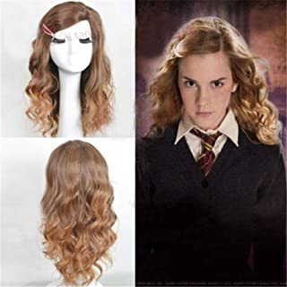 Peluca_cos Harry Potter Hermione Granger: Amazon.es: Belleza
