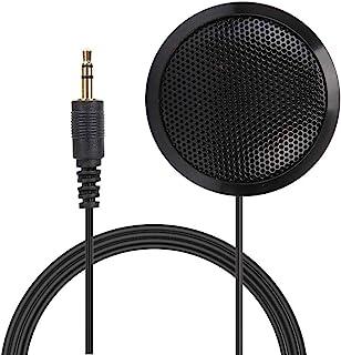 EY-510 Microfone omnidirecional de conferência de 3,5 mm 360 °, microfone de condensador de computador de mesa portátil pa...