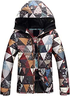 Warm Winter Lined Jacket, Ski Snowboard Jacket for Women, Windproof Waterproof Coats for Skiing and Snowboarding, Parka Ideal for Winter