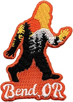 Little Bay Root Bend Squatch Embroidered Patch