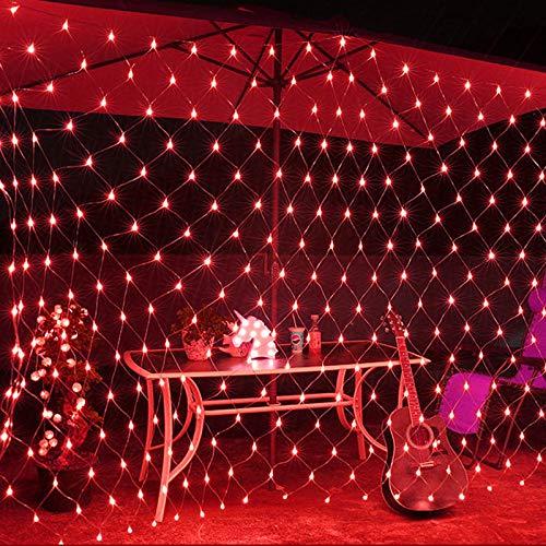 YUNDING Lights Mesh Fairy Lights Decoration Outdoor LED Net Light Garden Decorative Waterproof 220V 110V Wedding Party Holiday(Color:2mX2m)