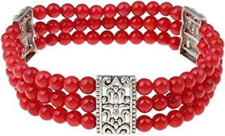 Best three strand beaded bracelet Reviews