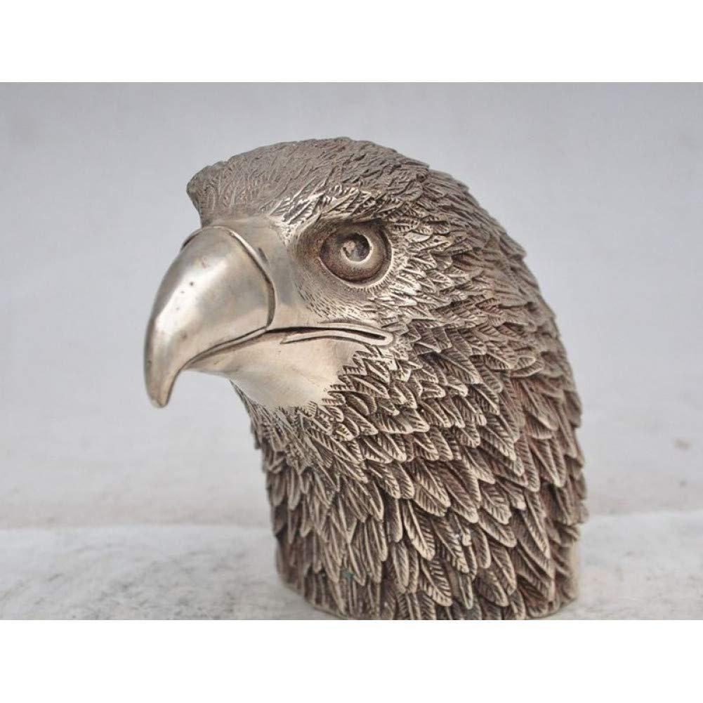 LOVIVER 2 Unidades Modelo de Animales de Aves en Miniatura Figura Realista Juguetes Regalo para Ni/ños b/úho y /águila