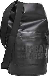 Urban Classics Mochila unisex Dry Backpack para hombre y mujer, 60 cm, 20 litros, color negro