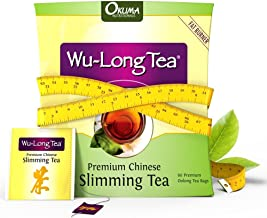 Premium Chinese Slimming WuLong Tea - Highly Effective - Natural and Organic Oolong for Weight Loss: Increase Metabolism, Suppress Appetite, Diet and Detox, Clear Skin, Remove FreeRadicals, Sharpen Focus