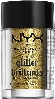 Best gold face glitter Reviews